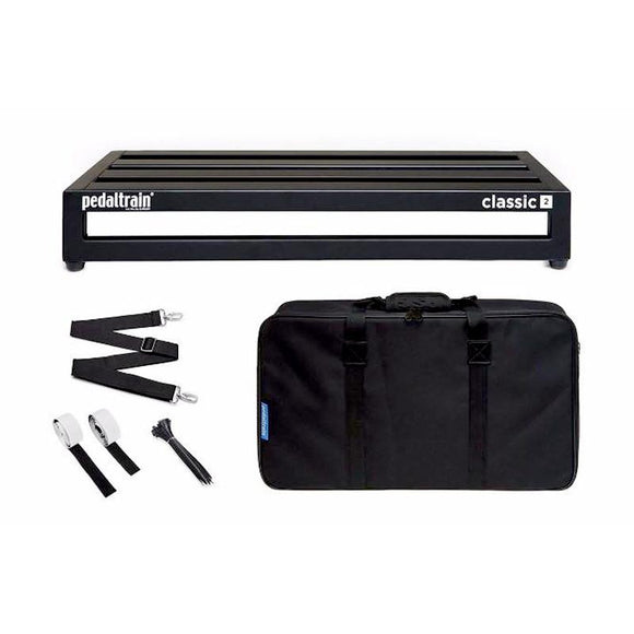 Pedaltrain Classic 2 Pedal Board with Soft Case PT-CL2-SC