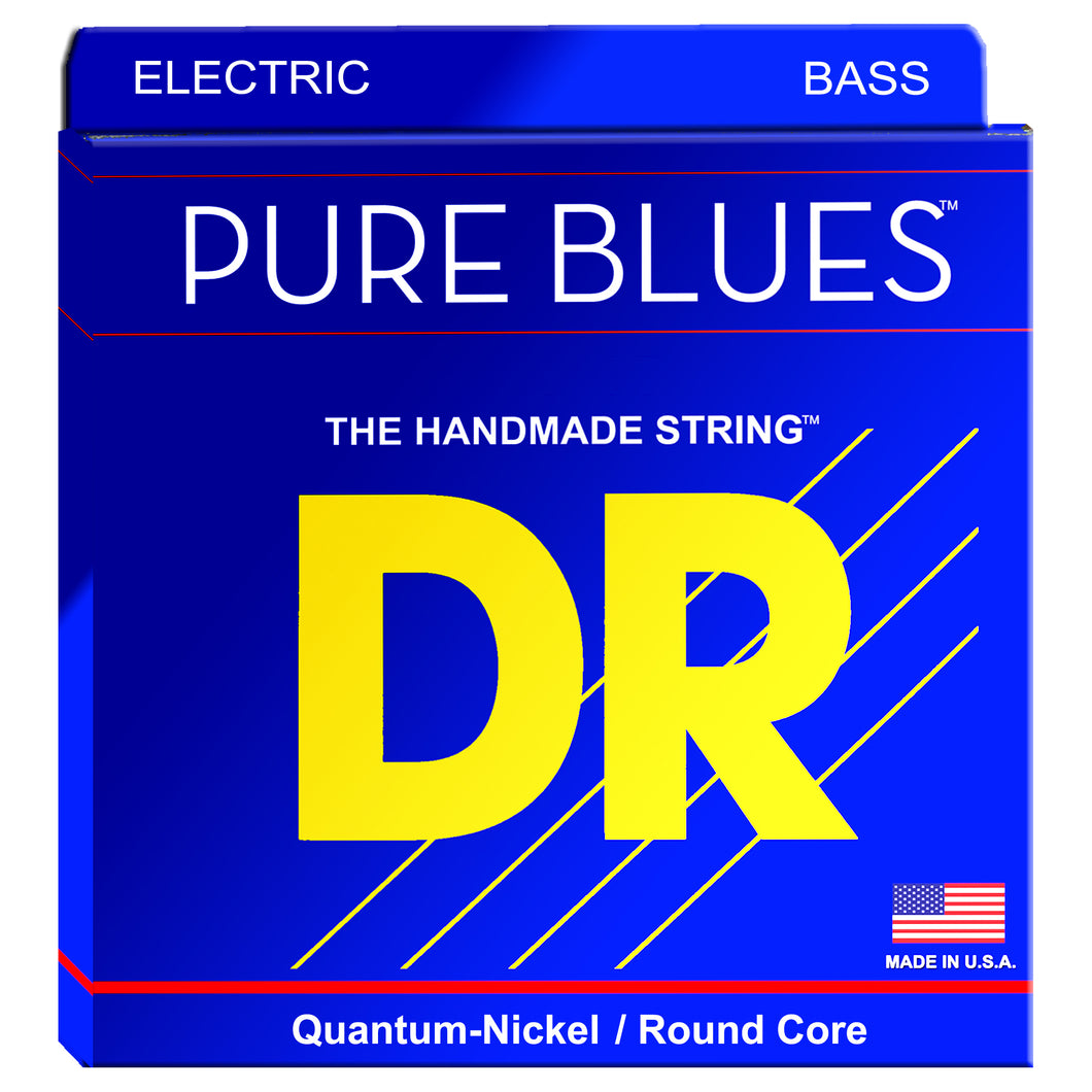 DR PB5-130 Pure Blues Quantum-Nickel Bass Strings 45-130