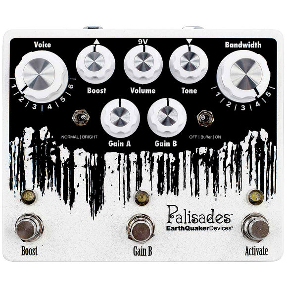 EarthQuaker Devices Palisades  Mega Ultimate Overdrive V2