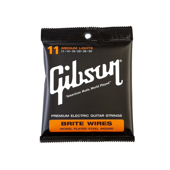 Gibson Brite Wires Electric Strings Medium Lights 11-50