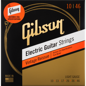 Gibson Vintage Reissue Electric Guitar Strings - Light 10-46