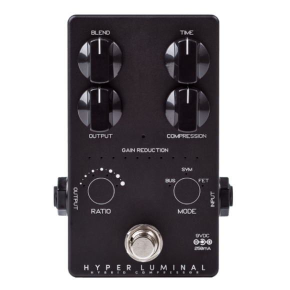 Darkglass Electronics Hyper Luminal Bass Compressor Limited Edition Black