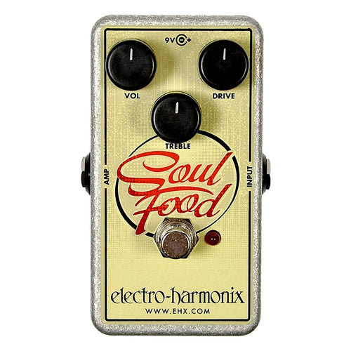 electro-harmonix Soul Food Transparent Overdrive