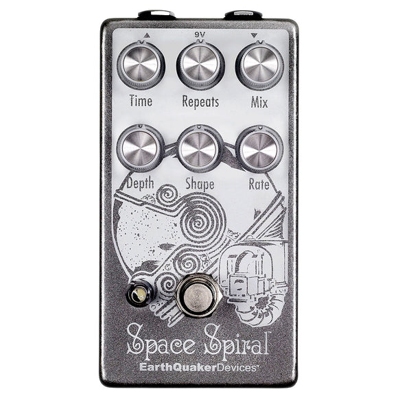 EarthQuaker Devices Space Spiral Modulated Delay Device V2