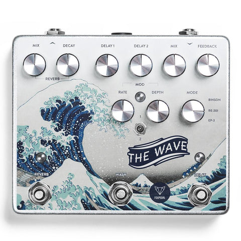 Foxpedal The Wave Dual Delay / Reverb / Modulation