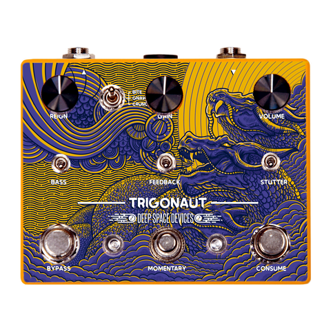Deep Space Devices Trigonaut Octave Glitch/Stutter Overdrive