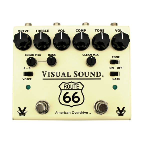 Truetone V3 Route 66 Overdrive and Compressor