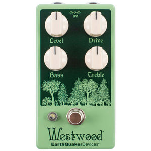 EarthQuaker Devices Westwood™ Translucent Drive Manipulator