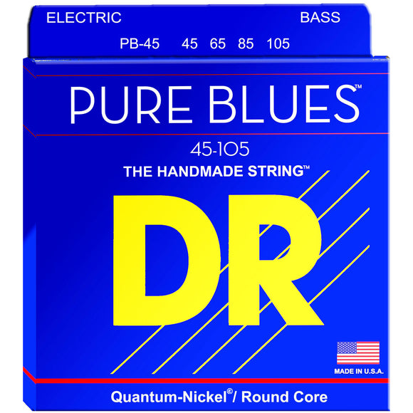 DR PB-45 Pure Blues Quantum-Nickel Bass Strings 45-105