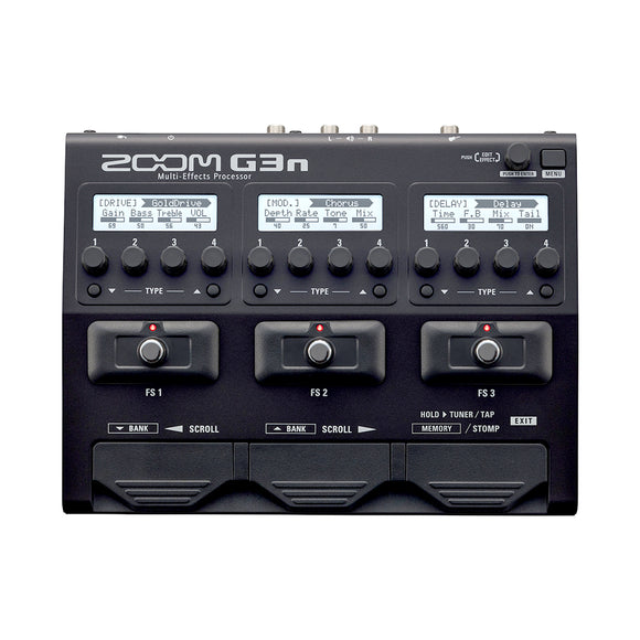 Zoom G3N Multi Effects Platform