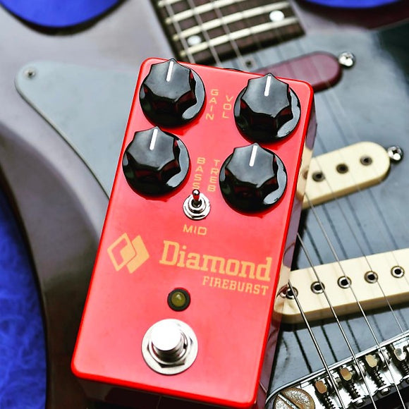 Diamond Pedals FBR2 – Fireburst Distortion / Fuzz