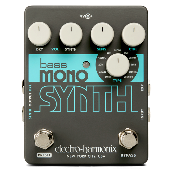 Electro-Harmonix Bass Mono Synth, Bass Synthesizer
