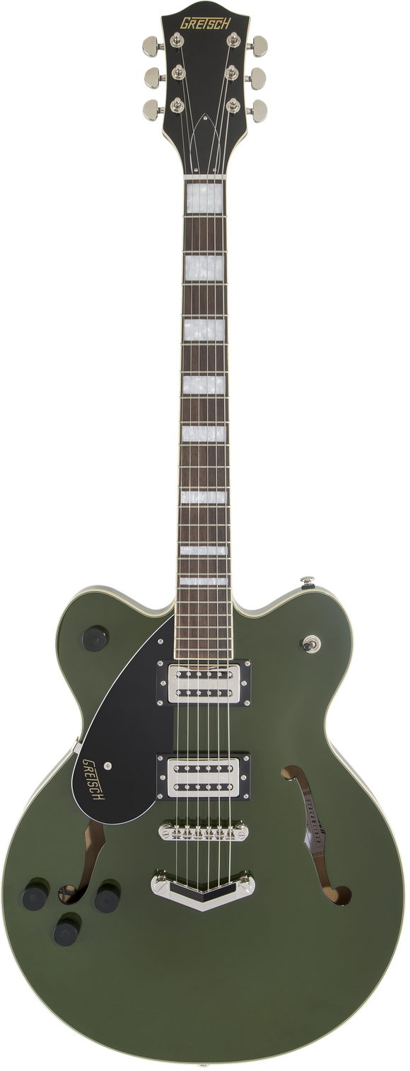 Gretsch G2622LH Streamliner Center Block with V-Stoptail, Broad'Tron BT-2S Pickups, Torino Green - Left-Handed
