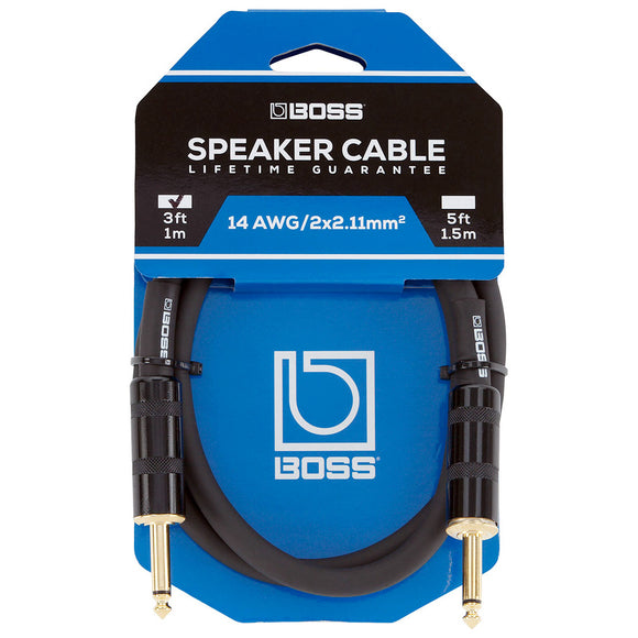 BOSS Speaker Cable - 1/4