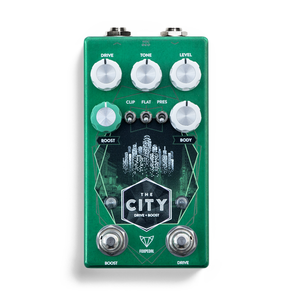 Foxpedal The City V2 TS-Style Overdrive