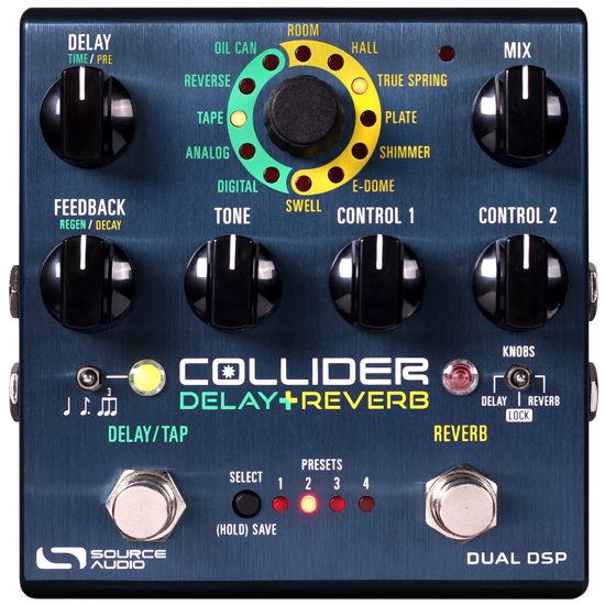 Source Audio SA263 Collider Delay + Reverb