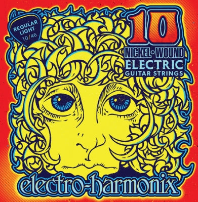 Electro-Harmonix Nickel Wound Electric Guitar Strings (10s)