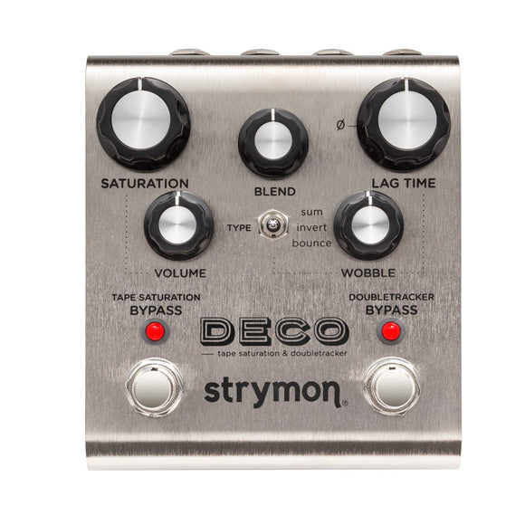 Strymon Deco Tape Saturation and Doubletracker Delay