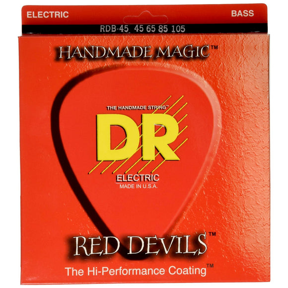 DR Red Devils Bass Strings Medium 45-105 | RDB-45