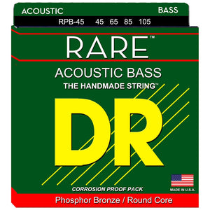 DR Strings Rare RPB-45 (45-105) Acoustic Bass Strings