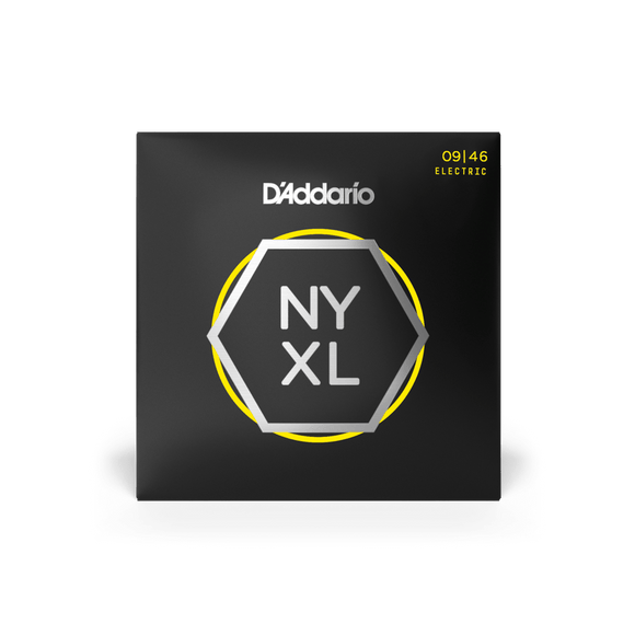 D'Addario NYXL Electric Guitar Strings Super Light Top / Regular Bottom 9-46