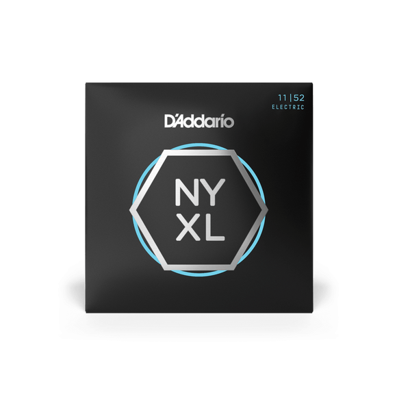 D'Addario NYXL Electric Guitar Strings Medium Top / Heavy Bottom 11-52