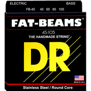 DR Fat-Beam Bass Strings 45-105 Medium 4-String FB-45