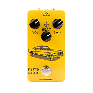 Southampton Pedals Fifth Gear Overdrive