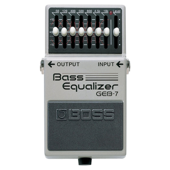 Boss GEB-7 Seven-Band Bass Equalizer