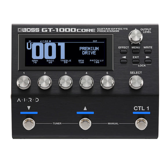 BOSS GT-1000CORE Compact Guitar Effects Processor