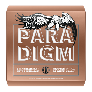 Ernie Ball Paradigm Phosphor Bronze Acoustic Strings Medium Light 12-54
