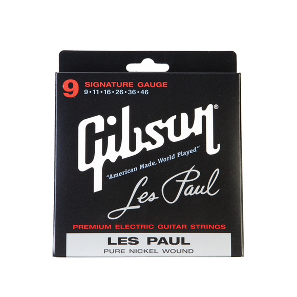 Gibson Les Paul Signature Electric Strings Signature Guage 9-46