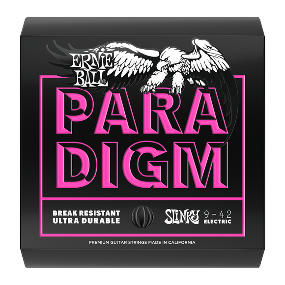 Ernie Ball Paradigm Super Slinky Electric Strings 9-42