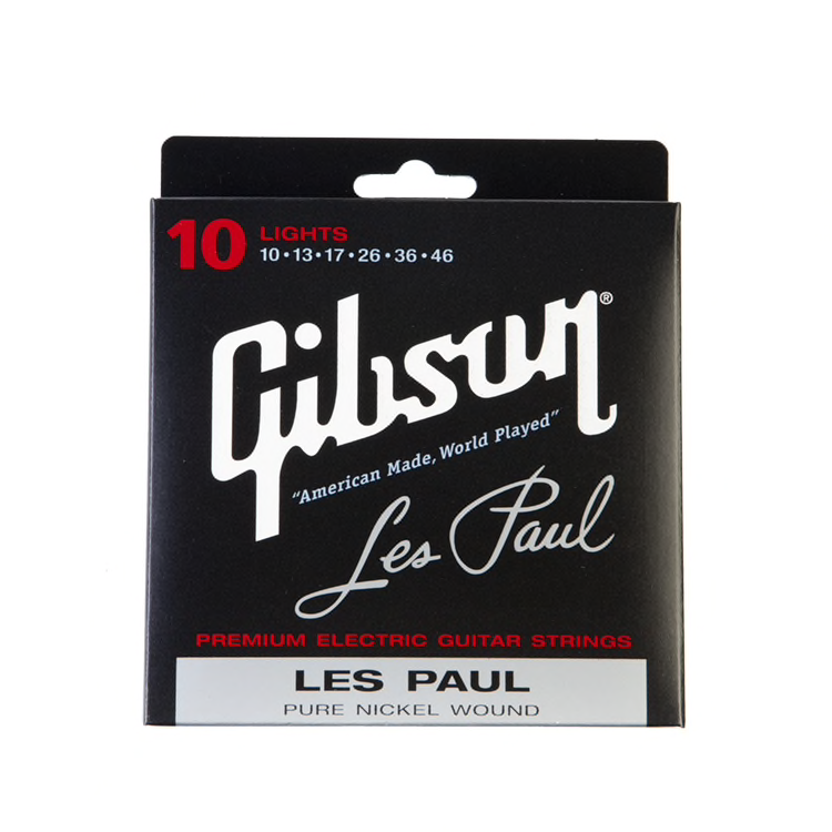 Gibson Les Paul Signature Electric Strings Lights 10-46