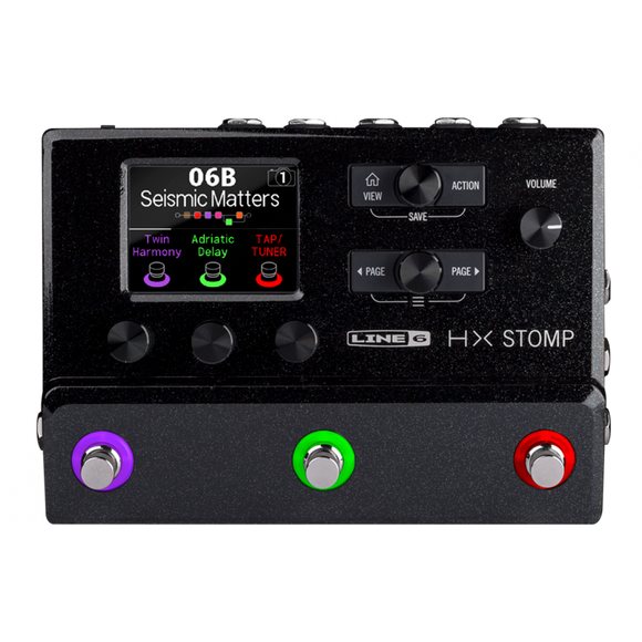 Line 6 HELIX HX Stomp Multi-Effects Processor