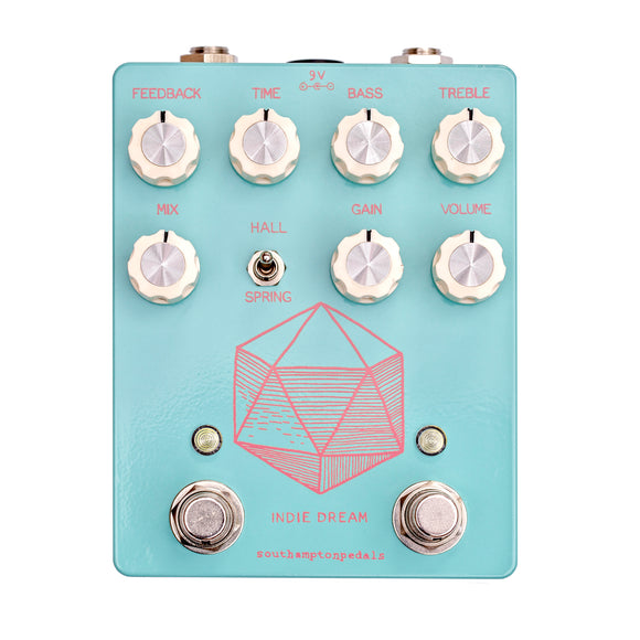 Southampton Pedals Indie Dream OD/Delay/Reverb