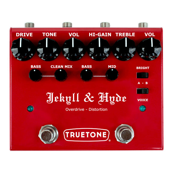 Truetone V3 Jekyll & Hyde Overdrive/Distortion Pedal