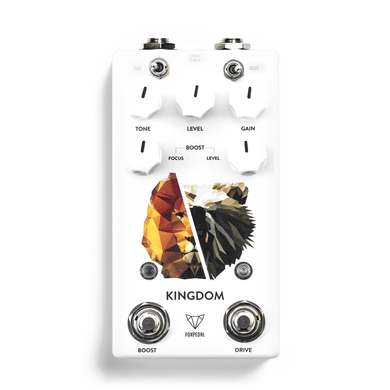 Foxpedal Kingdom Combo V2 Transparent Overdrive / Clean MOSFET Boost