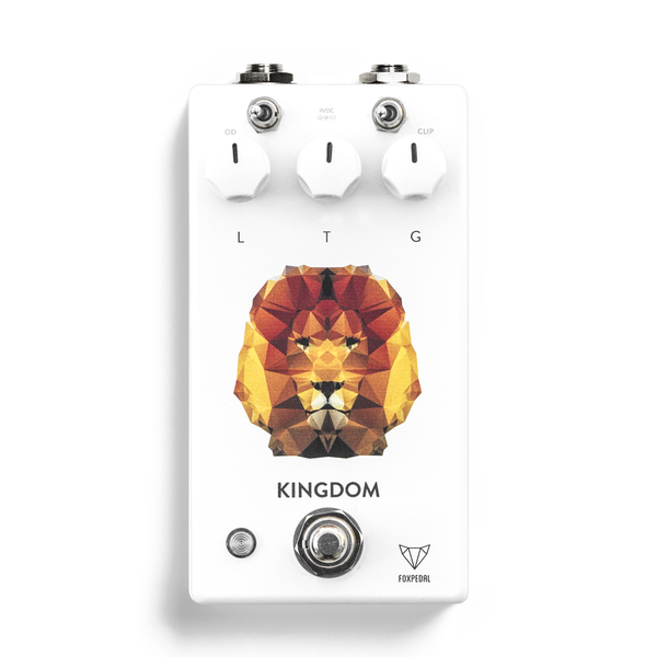 Foxpedal Kingdom V2 Transparent Overdrive