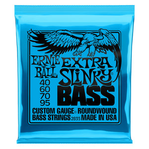 Ernie Ball Nickel Wound Extra Slinky Bass Strings  40-95