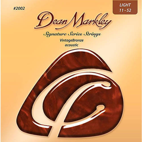 Dean Markley Vintage Bronze 12-54 Medium Light Acoustic Strings 2004
