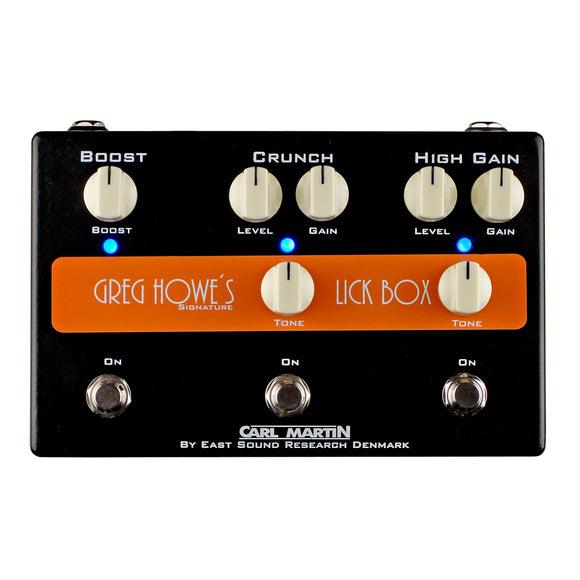 Greg Howe Signature Lick Box Crunch plus Gain and Clean Boost