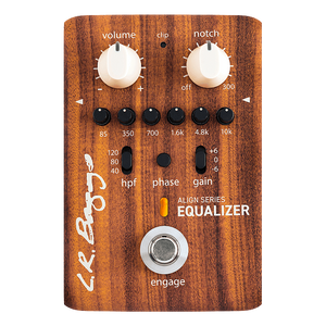 L. R. Baggs Align Series Equalizer Acoustic Preamp with 6-Band EQ