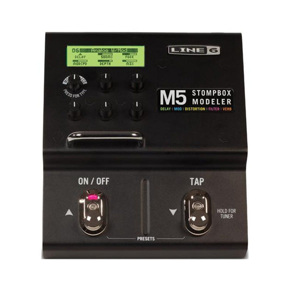 Line 6 M5 Stompbox Modeler 100+ Effects