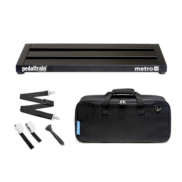 pedaltrain metro 20 with soft case