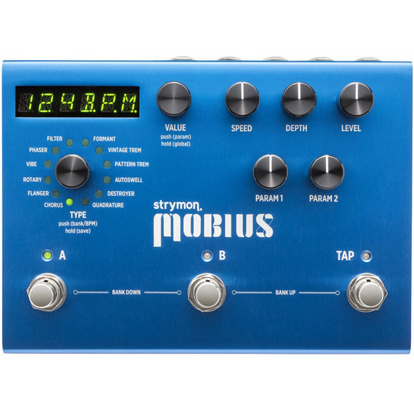 Strymon Mobius Modulation Effect Unit