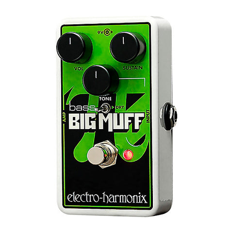 electro-harmonix Nano Bass Big Muff Pi Distortion/Sustainer for bass