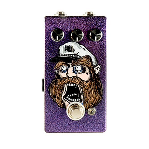 Pine-Box Customs The AHAB V2 Sparkle Purple Hand Painted Edition #095