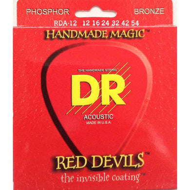 DR RDA-12 Red Devils™ acoustic strings with K3™ Technology
