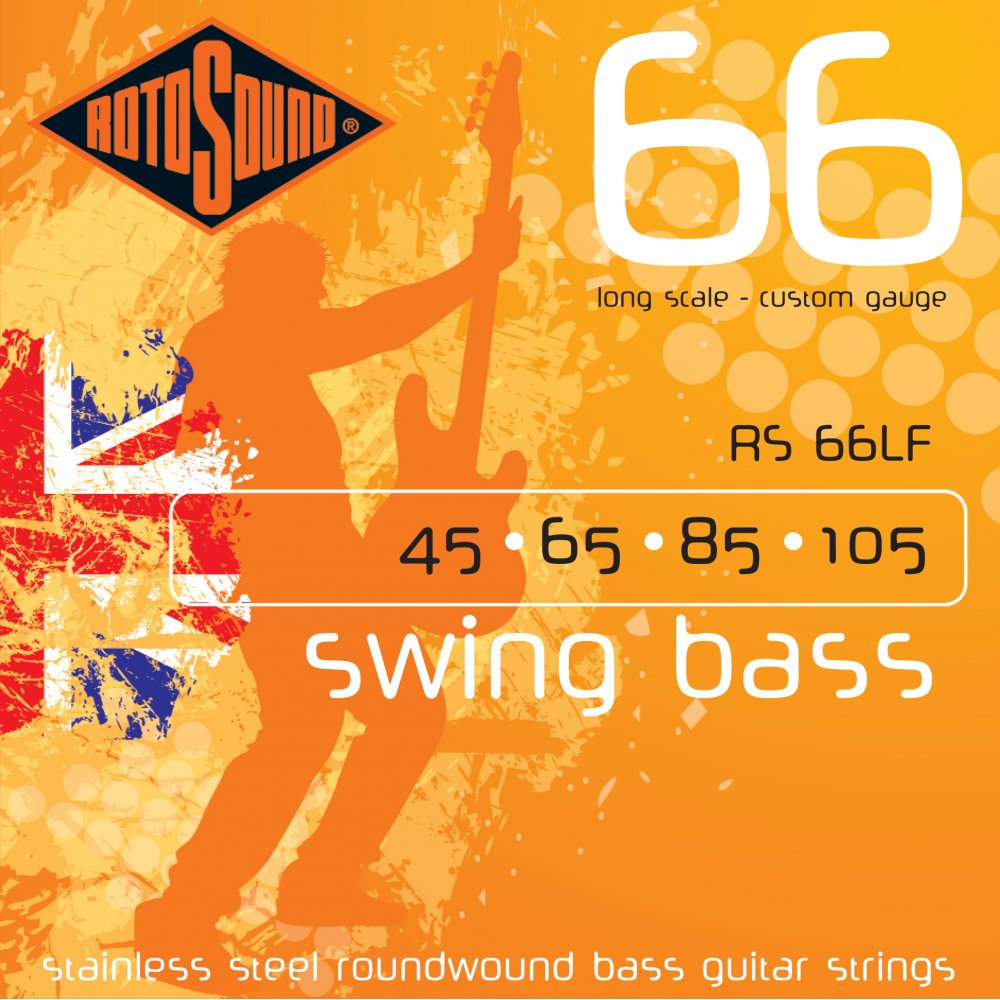 Rotosound SM66LF Stainless Steel Bass Strings 45-105